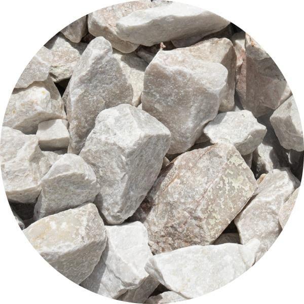 Gabion biały 60-100 mm