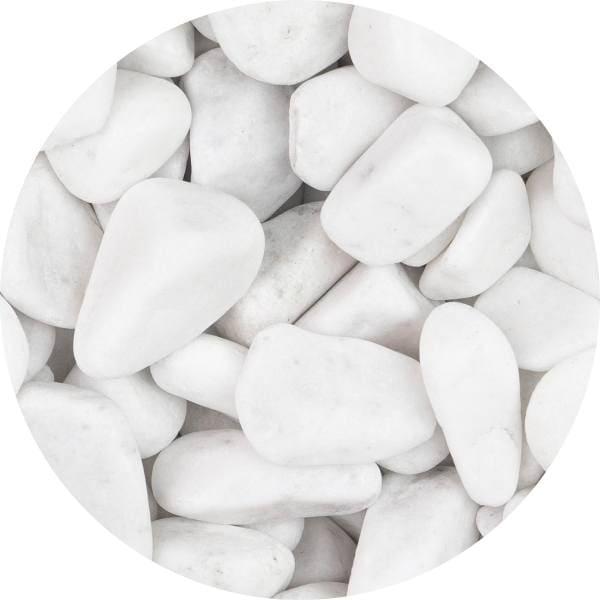 Otoczak perłowy biały 20-40 mm